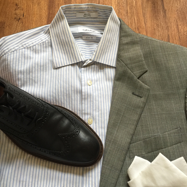 Outfit Grid Prince of Whales Check