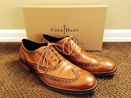 Cole Haan Wingtip Shoes